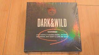 ?Unboxing BTS ????? 1st Studio Album Dark & Wild ???????