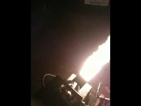 how to build a babington oil burner