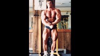 John Hansen Posing in Gym at 23 years old