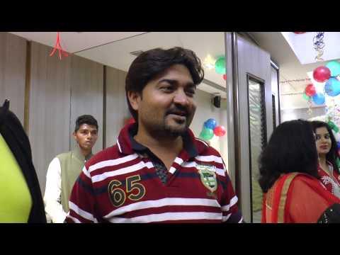 Director Raj Kumar R Pandey,Ravi Kishan Interview -Dhwanit Birthday Party-Devra Bada Satavela Part-2