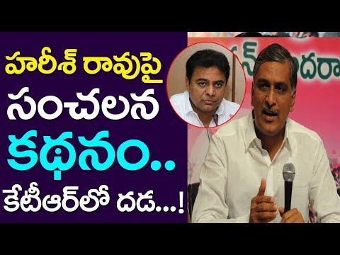 Sensational Story On Harish Rao, KTR Worrying, CM KCR, Telangana News