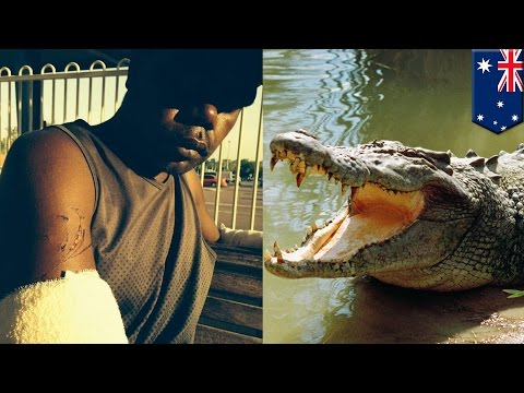Croc attack fail: Australian man fights off croc with crazy eye gouge
