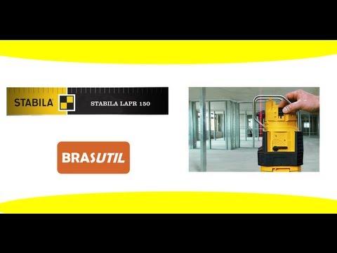 Nível Laser Stabila LAPR 150 - Nível Laser de Qualidade