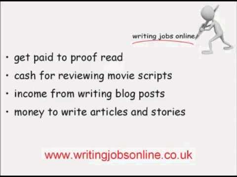 Writing Jobs Online: How To Earn Money Writing Video