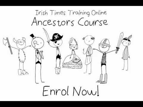 Find Ancestors online - Online genealogy course to trace your Irish Ancestors