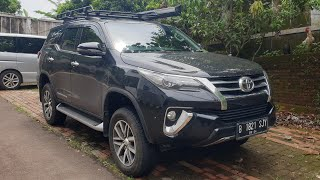 Toyota Fortuner 2.4 VRZ A/T 4x4 TetraDrive 2018 In Depth Review Indonesia