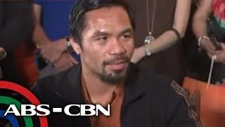 """TV Patrol: Exclusive Interview kasama ang """"Pambansang Kamao"""" Manny Pacquiao"""