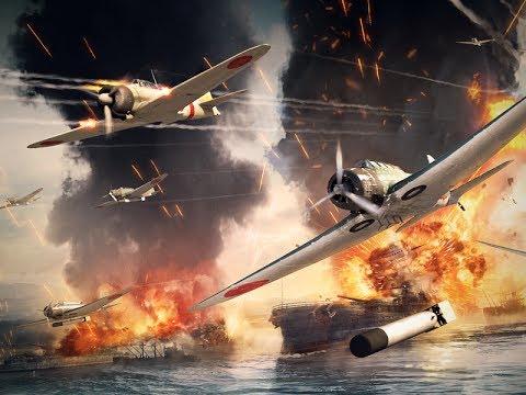 War Thunder: Дуэль,где то, над океаном :)) СБ