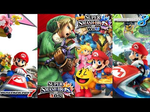 Super Smash Bros. for Wii U & Nintendo 3DS, Mario Kart 8 & 7 (4-25-15 Livestream) - Wii U & 3DS