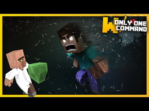 Minecraft - BE THE HEROBRINE with only one command block | Herobrine disguise