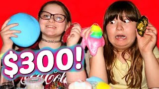 $300 ULTIMATE SLIME AND SQUISHY SHOPPING AND HAUL ~ A GIANT STRESS BALL & UNICORN POO!