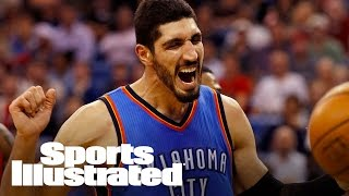 Thunder's Enes Kanter Punches Bench, Breaks Arm | SI Wire | Sports Illustrated