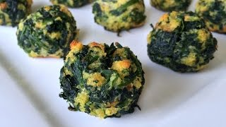 LIL BALLS - Spinach Balls Recipe - Easy Appetizer