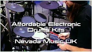 Yamaha DTX400K, DTX522, Roland TD-4KP, HD-3 and TD-11K Drum kit demo