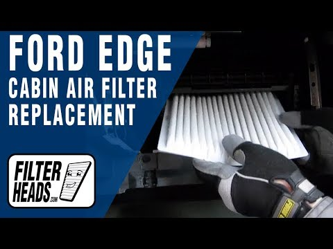 Cabin air filter replacement Ford Edge YouTube