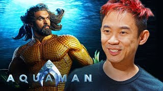 Go Behind the Scenes of Aquaman with Director James Wan | DC Kids