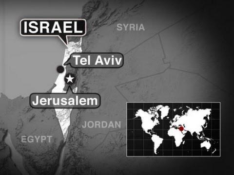 Raw: Panic in Tel Aviv As Siren Warns of Attack