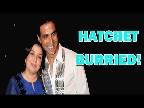 Akshay Kumar and Farah Khan settle their dispute! | Bollywood News