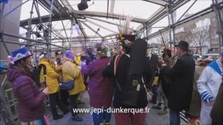 Carnaval de Dunkerque 2017   L'Avant Bande   Le rigodon autour de J Bart