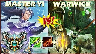 MASTER YI vs WARWICK na JUNGLE! CONHEÇA O MATCH UP! MatheusBT