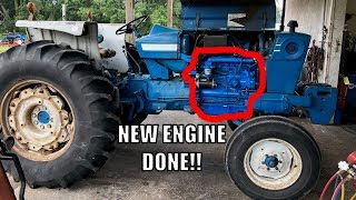 60 YEAR OLD TRACTOR ENGINE IS ALIVE!!!