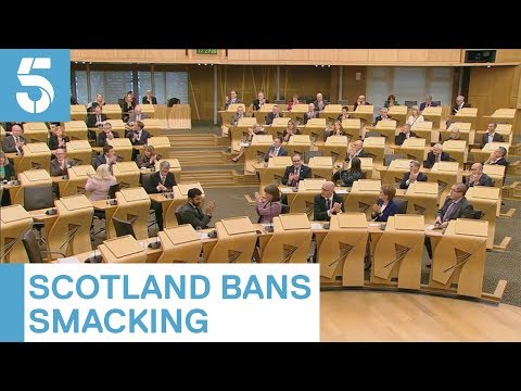 Scotland becomes first country in the UK to ban smacking | 5 News