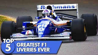 Top 5 Formula 1 Liveries Ever