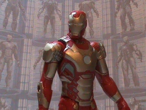 Review do Boneco Iron Man Mark 42-Iron Man 3