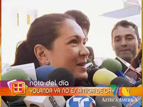 Yolanda Andrade donó su virginidad a Cristian