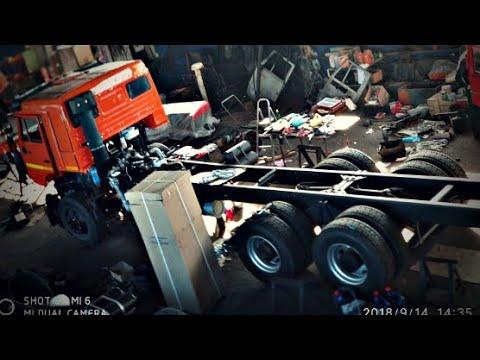 Обзор КАМАЗа 6520 шасси под зерновоз (под заказ)