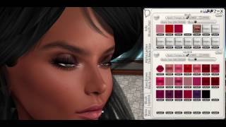 Alpha Line fix for Wearing Flexi Hair + Mesh Head that has makeup layers