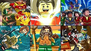 All DLC Levels in LEGO DC Super-Villains - Full Game Walkthrough