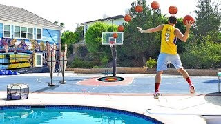 ONCE IN A LIFE TIME BASKETBALL TRICKSHOTS OMG