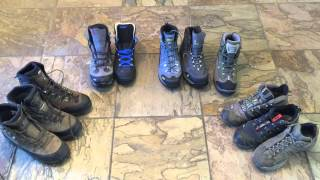 Lose Boot weight! Lightweight boot options - Lowa, Salomon, Asolo, Vasque