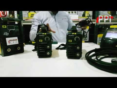 Soldadora ESAB Conarco Handy ARC 140i - 160i inverter   PPi - Maquinas y Herramientas