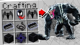 CRAFTING VENOM IN MINECRAFT!