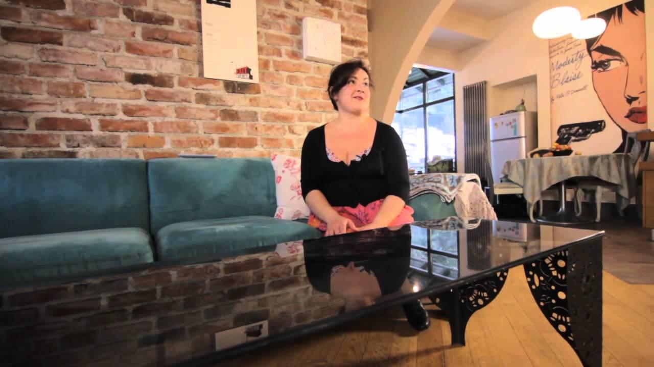 Dizajnerski prostori - Dizajnerski stan od 54 kvadrata - YouTube