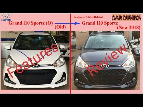 Hyundai Grand i10 Sportz New 2018 Features Changed