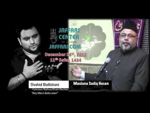 Event: Maulana Sadiq Hasan & Shahid Baltistani at Jaffari Center of Atlanta on Dec 24, 2012/1434