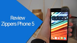 Review Smartphone 5 pulgadas, Octa Core barato y de calidad. Vexia Zippers Phone 5