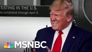 Trump Demands Praise As Surgeon General Warns Of A 'Pearl Harbor Moment' | The 11th Hour | MSNBC