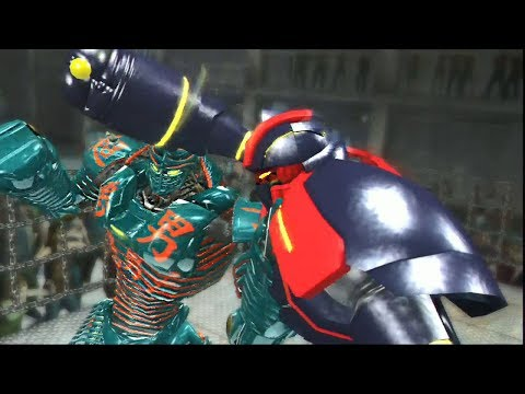 REAL STEEL THE VIDEO GAME - GREEN NOISY BOY vs STEAMPUNK (WORLD K.O RULES)