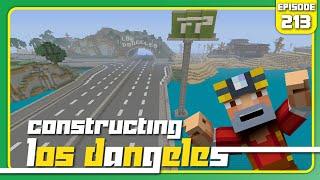 Minecraft Xbox 360: Constructing Los Dangeles - Episode 213! (Billboards!)