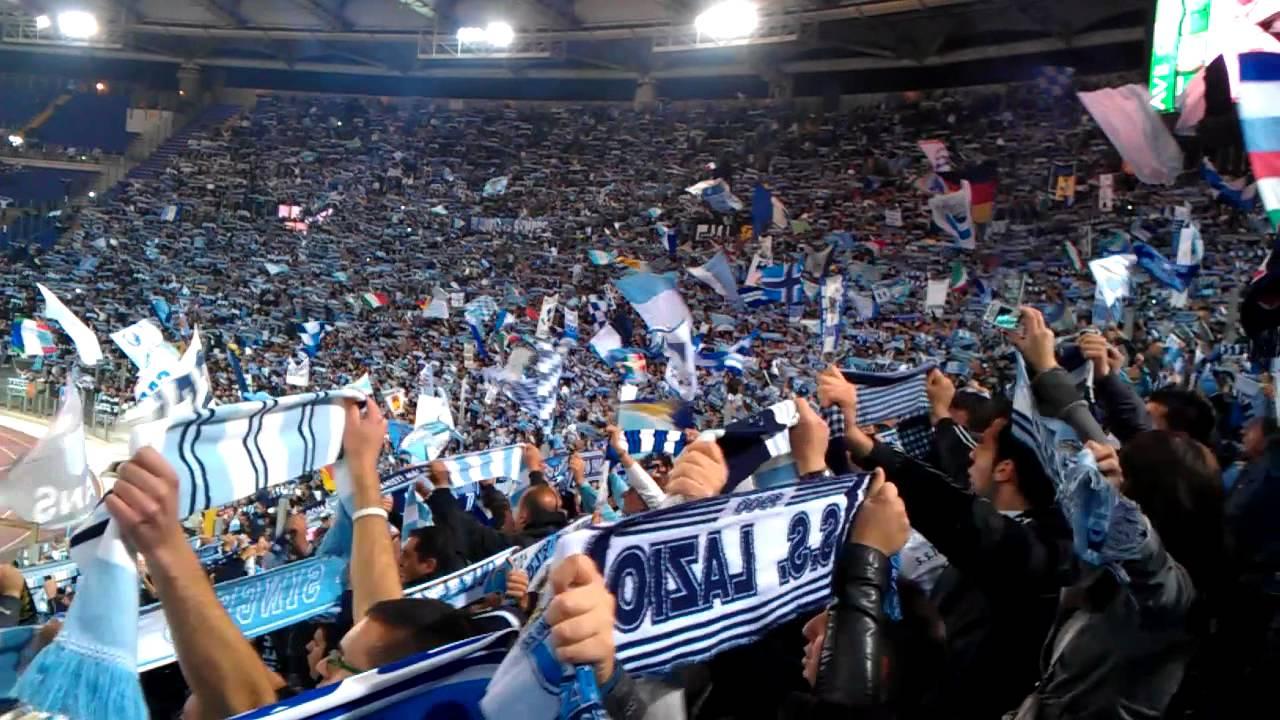 Curva Nord Derby Lazio Vs Roma Lazio Grande Lazio Youtube