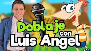 FANDUB (Doblaje Phineas y Ferb) con Luis Angel Gomez/ Memo Aponte