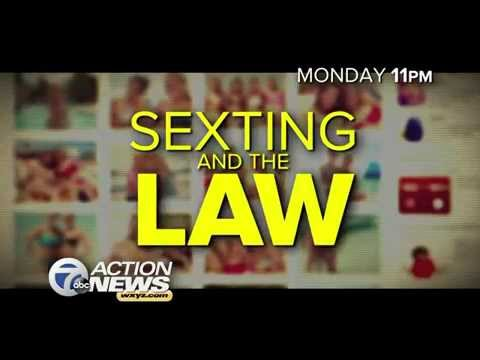 WXYZ Sexting And The Law Promo 10/19/14