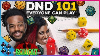 DND 101: How to play DUNGEONS AND DRAGONS - Rollout Season 2