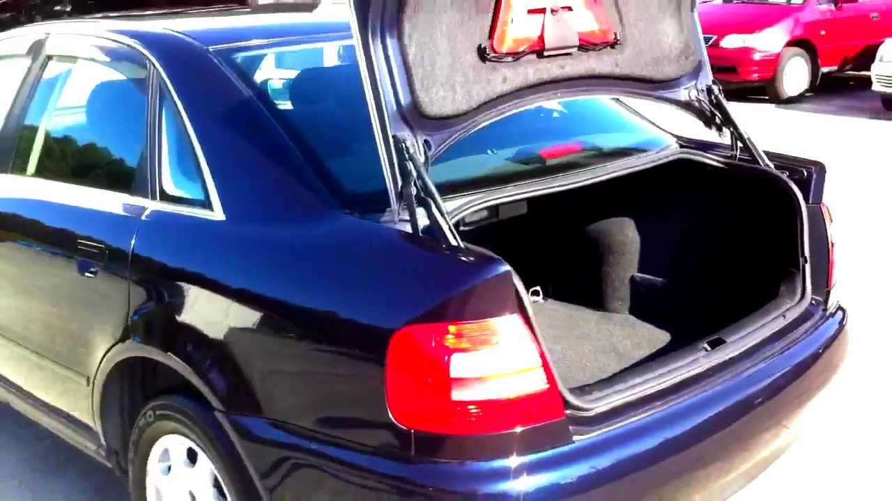Audi A4 Interior 1 8l Auto 1997 Youtube