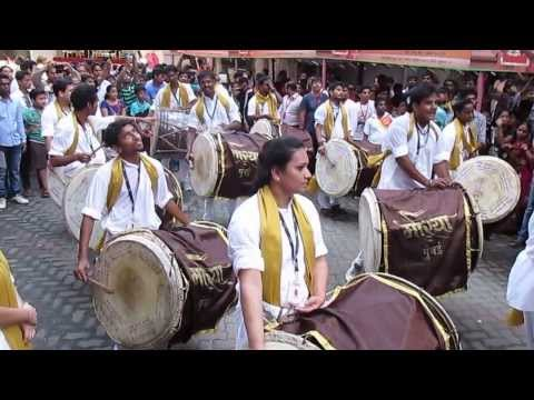 Morya .....nashik Dhol In Ganesh Galli [mumbai].. video