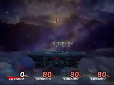 super smash bros brawl - final smashes
